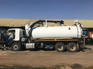 Vacuum Trucks, Super-Sucker Trucks, Honey Sucker Trucks, Combination Jet/Vac Trucks L20 Flow Control South Africa